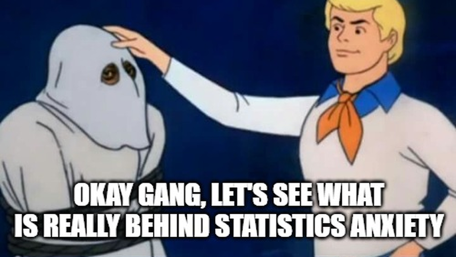 Zoinks! Statistics anxiety and maths anxiety were the same all along!